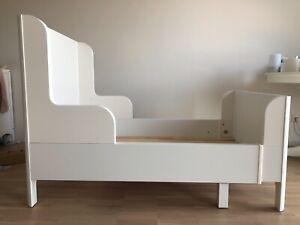IKEA Kinderbett BUSUNGE, ausziehbar, Karton 2   eBay