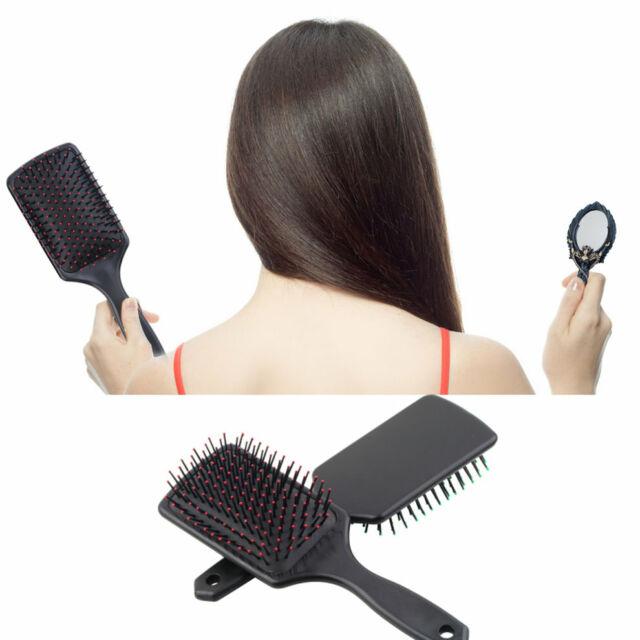 Professional Paddle Cushion Hair Scalp Massage Brush Hairbrush Comb Tool FL