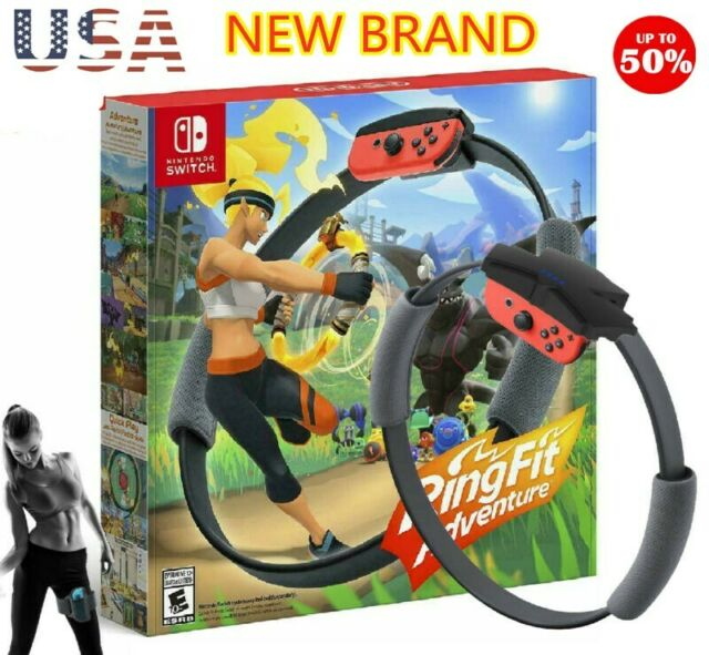 For Nintendo Switch Ring Fit Adventure Fitness Sensor Ring - US FAST SHIPPING