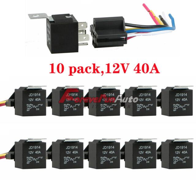 10 Pack 12v 30  40 Amp 5