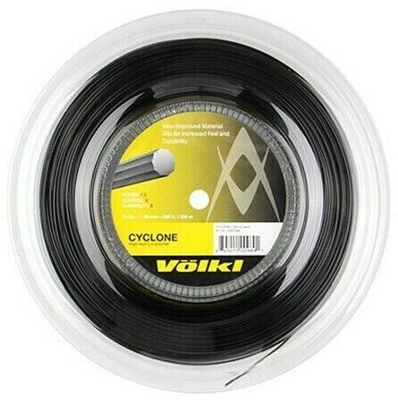 RRP £120 VOLKL CYCLONE TENNIS STRING BLACK 1.25MM 17G 200M REEL