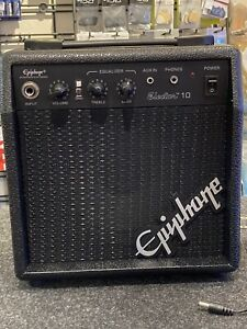 "Epiphone Electar 10 Guitar Amp (10 WATTS) 6"" Speaker (NEW)"
