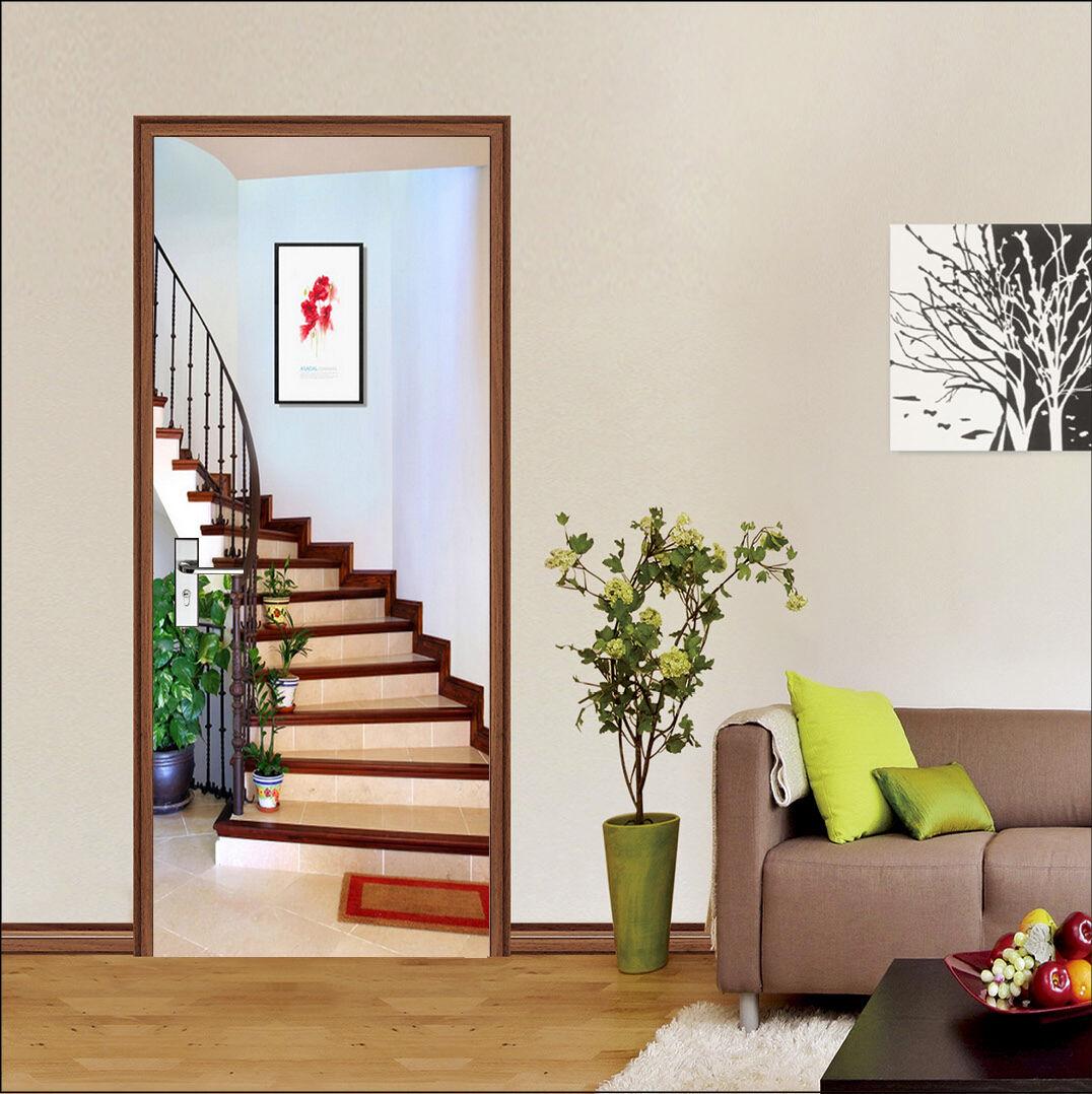 3D Treppe 13343 Door Wall Mural Photo Wall Sticker Decal Wall AJ WALLPAPER DE