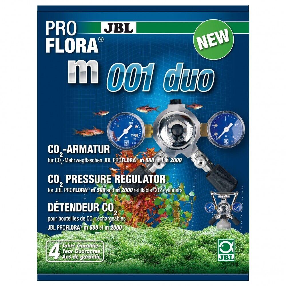 JBL pro Flora m001 Duo - Rubinetto Druckminderung (F) . Due CO2