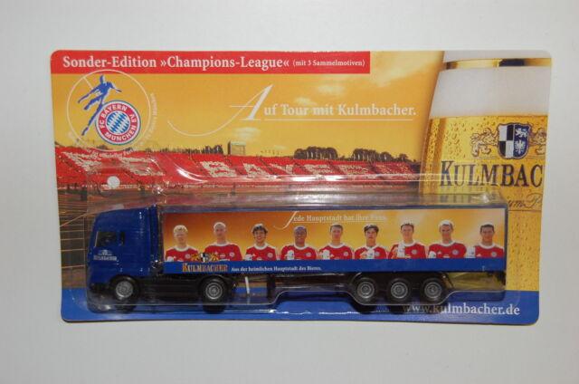 Werbetruck - Sattelzug Kulmbacher - FC Bayern - 1:87 - Spur H0 - 4