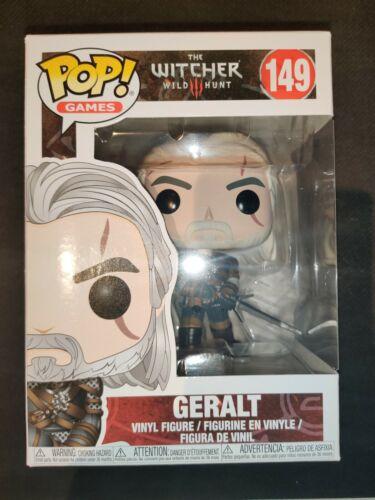 Funko Pop Games The Witcher 3 Wild Hunt Geralt 10cm Figurine en Vinyle