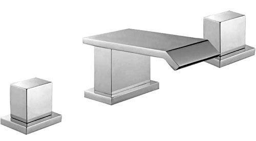 Evolución de baño moderno moderno moderno cromo cascada para lavabo grifo mezclador 8b04b6