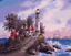 """New DIY Paint By Number 16*20/"""" kit Oil Painting On Canvas Lighthouse 1609"""