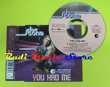 CD Singolo JOSS STONE You had me 2004 eu EMI 7243 8 67497 2 7 no lp mc dvd (S12)