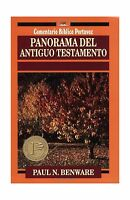 Panorama Del Antiguo Testamento (comentario Bblico Portavoz) (s... Free Shipping