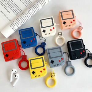Vintage-Nintendo-Game-Boy-Apple-AirPods-Hot-Case-Cover-Protect-Silicone-Keychain