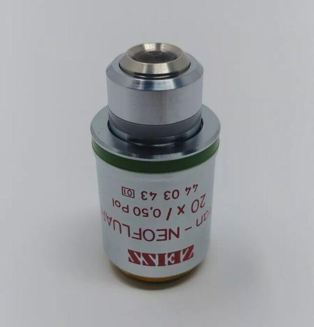 Zeiss Microscope Objective Plan-NEOFLUAR 20x/0.50 Pol