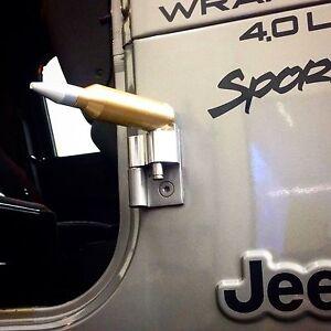 Jeep Wrangler 1987 2006 Tj And Yj Door Hinge Foot Pegs