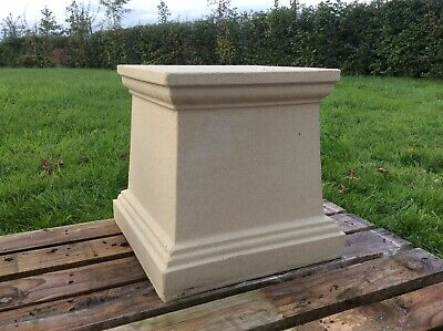 Indoor//Outdoor Garden Pedestal for Urns or Statues by Orlandi Statuary FS8129