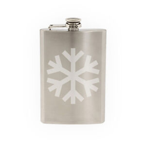 Snowflake-Pattern-1-Winter-Art-Christmas-Decoration-8-oz-etched-flask