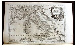 Map Of France Italy Switzerland.1768 Addison Italy Switzerland France With Map Ebay