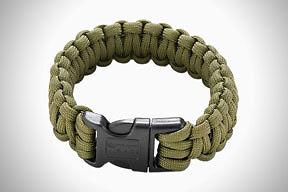 CRKT Parasaw, Braided Paracord Survival Bracelet w/ Tungsten Carbide Saw 9300DL