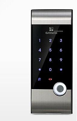 Gateman V10 Digital Door lock Scan type keys fingerprint One Touch Doorlock NEW