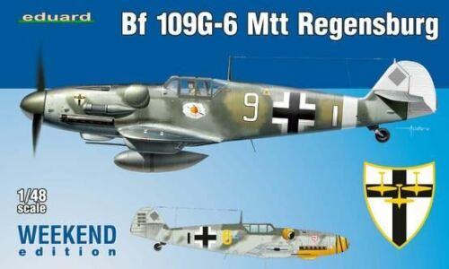 EDUARD 1//48 BF109G6 MTT REGENSBURG FIGHTER WKD EDITION PLASTIC KIT 84143