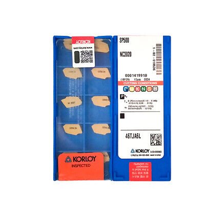 10PCS KORLOY CNC Blade SP500 NC3030