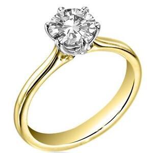 Anillo-de-compromiso-1-5ct-diamante-solitario-de-oro-de-9ct-caracteriza-completamente-Reino-Unido