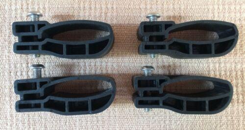 Yakima MightyMounts Set of 4 Factory Bar Ski Bike Rooftop Rack 1-39 V H Variety