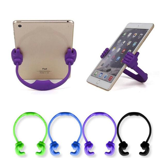 Adjustable Thumbs Stand Car Desktop Holder Mount For iPhone Samsung Tablet PCs