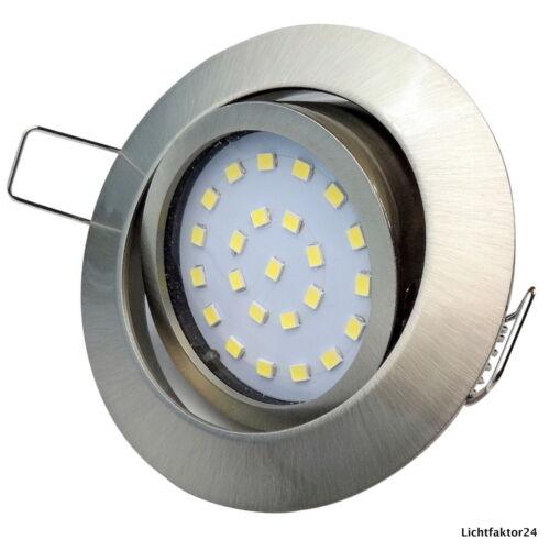 4W ✅ SMD LED Einbauleuchten für Zwischendecken mit geringer Einbautiefe 230V