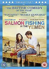 SALMON FISHING IN THE YEMEN DVD EMILY BLUNT EWAN MCGREGOR KRISTIN SCOTT-THOMAS