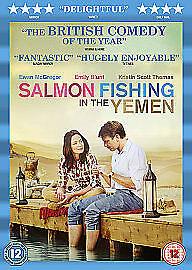 DVD  SALMON FISHING IN THE YEMEN Ewan McGregor,Kristin Scott-Thomas