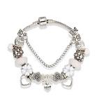 Bracciale donna in silver con charms tipo Pandora...best seller