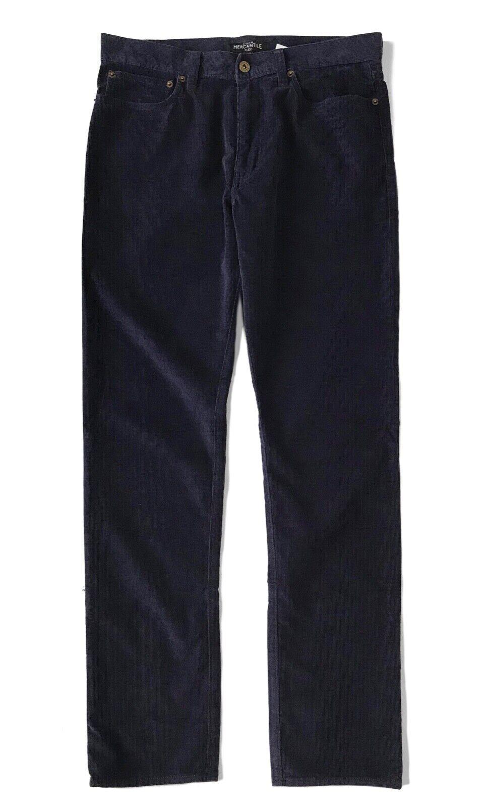J.Crew  Mercantile Hombre 34 32 - Nuevo con Etiqueta  69 - Azul Straight-Fit  tienda de pescado para la venta