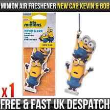 Despicable Me Minions New Car Kevin & Bob Fragrance Car Air Freshener Licensed
