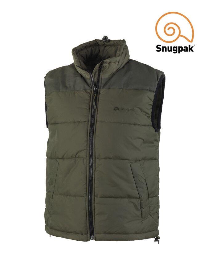 Snugpak  Elite Vest - Softie Insulated Thermal Bodywarmer   Gilet OLIVE verde  comprar descuentos