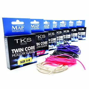 MAP-TKS-Twin-Core-Hollow-Pole-Elastic-Various-Sizes-amp-Colours