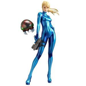 Details About Metroid M Samus Aran Zero Suit Ver 1 8 Pvc Figure Super Smash Brothers Ultimate