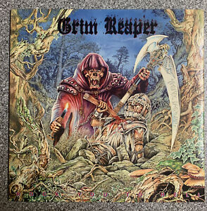 """Grim Reaper """"Rock You To Hell,"""" '87 NM OG VINYL RCA Records"""