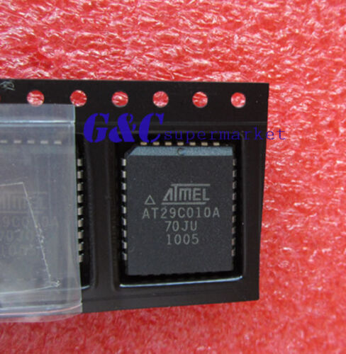 10PCS IC  AT29C010A-70JU PLCC32  ATMEL  NEW GOOD QUALITY