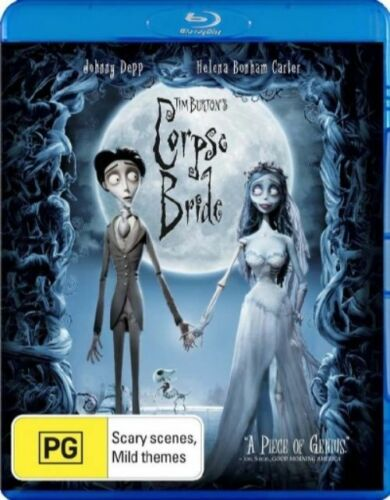 1 of 1 - Tim Burton's Corpse Bride (Blu-ray, 2007), NEW SEALED