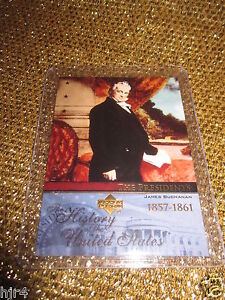 John-Buchanan-1857-United-States-USA-President-Trading-Card-Upper-Deck