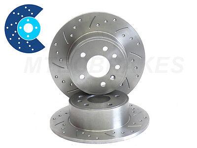 Rear Solid Brake Discs Citroen Saxo 1.6 VTL,VTR Hatchback 96-03 88HP 247mm