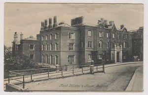London Postkarte - Kopf Masters Haus, Harrow - P/U 1906 (A488)