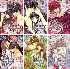 Demon Love Spell Series Collection Set 1-6 English Manga by May Shinjo NEW!!!!!
