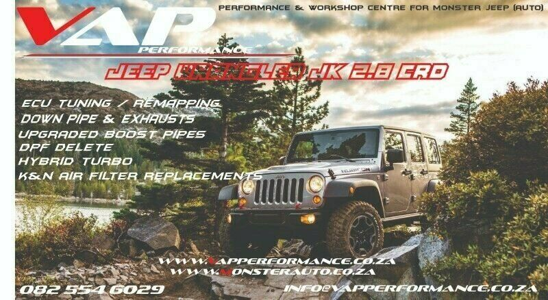 Jeep Wrangler JK 2.8 CRD Tuning / Remapping / Performance