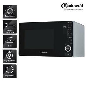 BAUKNECHT-Mikrowelle-MW-421-SL-Grill-Mikrowelle-freistehend-ExtraSpace