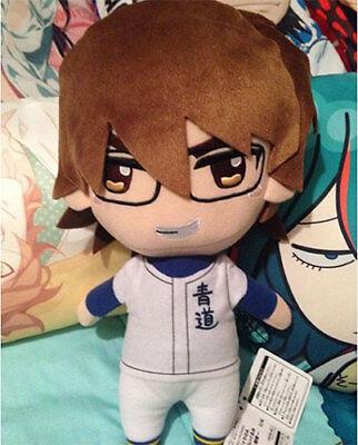 NEW FuRyu Ace of Diamond Mascot Miyuki Kazuya Plush 19cm AMU-PRZ6661 US Seller