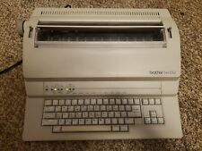 Brother Em 530 Electronic Typewriter Tested And Working Vintage