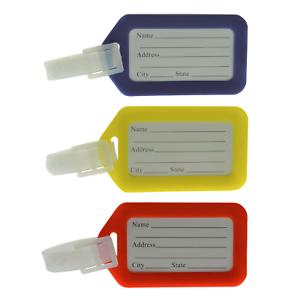 Gepaeckanhaenger-Adressschilder-Kofferanhaenger-Anhaenger-Namensschilder-Bunt