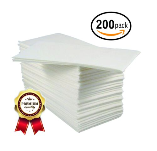 BloominGoods Linen-Feel Guest TowelsDisposable Cloth-Like Tissue PaperSoft