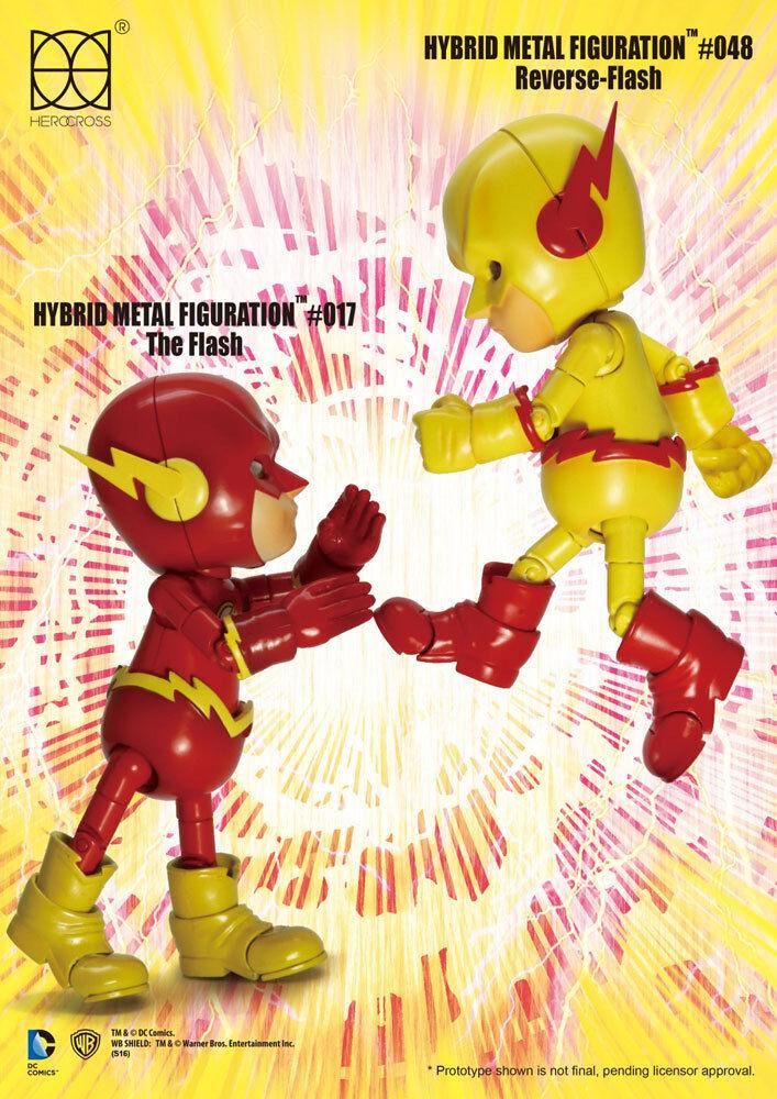 DC Comics ibrido in mettuttio azione cifra 2Pack REVERSE Flash & THE FLASH 14 cm